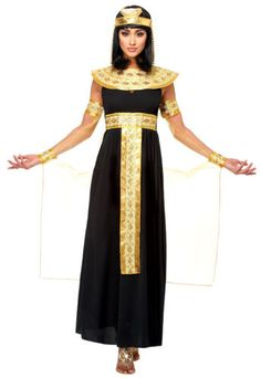 14ecde25be Black adult women lady cleopatra egyptian queen of the nile costumes 48459.  Disfraz De Egipcia MujerDisfraz ...