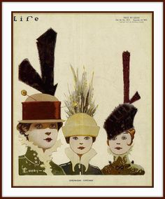 1915 Sept 9, Cover, LIFE ''Overhead Expense'', Hats by Emery | Flickr - Photo Sharing!