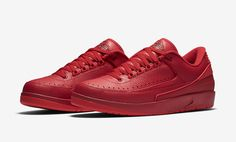 The Air Jordan 2 Low Gym Red Is Bright