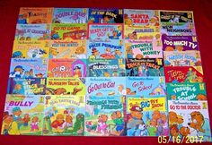 31 Berenstain Bears First Time Children's Books Softcover Ages 3-8
