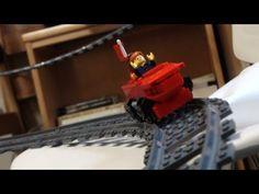 Lego Dorm Roller Coaster