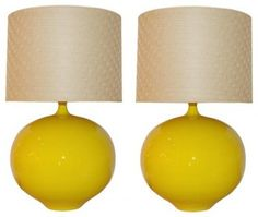 ceramic table lamps.