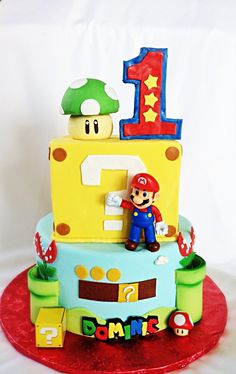 Mario's bros cake
