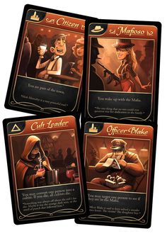 The Lounge--A Mafia Game by Alexander Gregory — Kickstarter