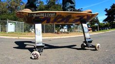 CRAZY SKATEBOARD STILTS?! | YOU MAKE IT WE SKATE IT EP 47: Big thanks to Anthony Miramontes… #Skatevideos #crazy #skate #skateboard #STILTS