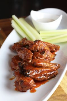 The best method for Smoked Buffalo Chicken Wings with crispy skin. Learn the secret to getting crispy skin when cooking wings low and slow (without frying!).