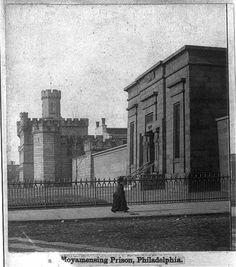 Moyamensing Prison 1896 Philadelphia