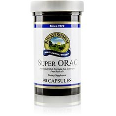 Super ORAC Antioxidant (90 caps) Anti oxidants help fight cancer because they fight off free radicals which are the building blocks of cancer