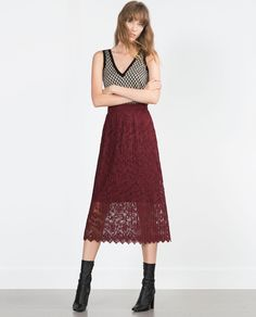 MIDI SKIRT-View all-Woman-NEW IN | ZARA United States