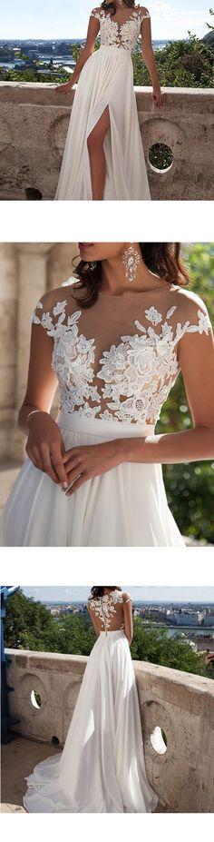 Wedding Gown & Earrings