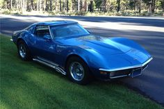 1971 Chevrolet Corvette 2 Door Coupe Love The Curves More Cars Should Have Them