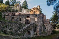 Mystras - Photos by Michael Kalafatas > Churches-Chapels