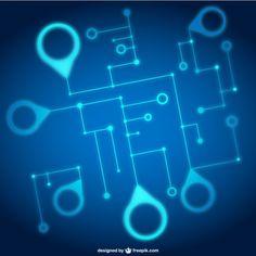 stock-vector-vector-illustration-gear-wheel-hexagons-and-circuit ...