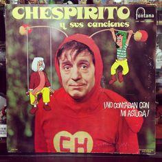 """""""Chespirito y sus canciones""""  - No contaban con mi astucia! -  1976 Polydor #chespirito #chavodel8 #mexico"""