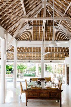 Gotta Getaway: An Inspiring Island Retreat - Bali Tropical Architecture, Interior Architecture, Landscape Architecture, Porches, Bungalow, Steel Framing, Bali House, Tropical Interior, Tropical Design