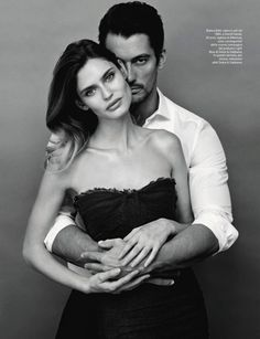 AMICA MAGAZINE: Bianca Balti & David Gandy by Photographer Giovanni Castel - Image Amplified: The Flash and Glam of All Things Pop Culture. From the Runway to the Red Carpet, High Fashion to Music, Movie Stars to Supermodels. Portrait Photos, Couple Portraits, Couple Posing, Couple Shots, David Gandy, Poses Pour Photoshoot, Style Photoshoot, Photoshoot Ideas, Fashion Editorial Couple