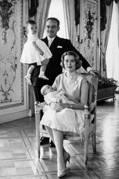 29 photos of Monaco's Royal Family throughout the years.