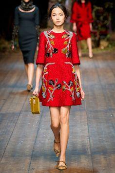 Dolce & Gabbana Fall 2014. red carpet prediction: zhang ziyi