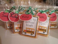 Back to School Party Ideas | Back to School Party Themes | Cute School Bus Invitation Ideas