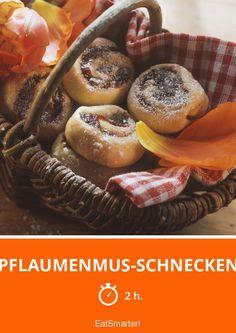 Pflaumenmus-Schnecken
