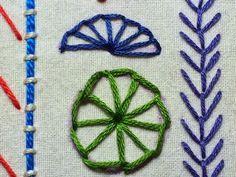 Take a Stitch Tuesday #22 - Buttonhole Wheel