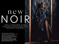 Vogue UK - The New Noir