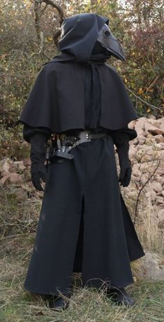 Komplette Outfits, Cosplay Outfits, Cool Outfits, Larp Fashion, Mens Fashion, Halloween Outfits, Doctor Costume, Venetian Carnival Masks, Plague Doctor