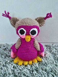 Jamin / sovička Emka crochet owl