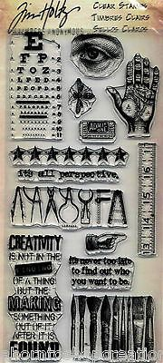 Tim Holtz Stampers Anonymous RANDOM THOUGHTS Clear Stamps NEW!