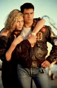 Top Gun (1986) - Kelly McGillis, Tom Cruise