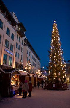 Christmas in Rovaniemi, Finland.