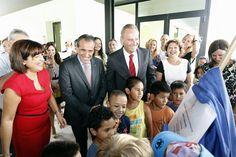 En la inauguración del CEIP San Francisco de Borja de Gandía