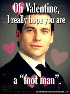 Downton Abbey Valentine
