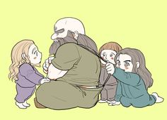 Dwalin and the babys