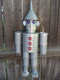 Garden Art From Junk Upcycling Yards