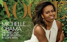 Michelle Obama, as photographed by the legendary Annie Leibovitz, appears on the December issue of Vogue magazine. The first lady, in the waning days of her husband's presidency, has been mak… Michelle Obama, Annie Leibovitz, Barack Obama, Marie Claire, Important People In History, American First Ladies, Greatest Presidents, American Presidents, American History