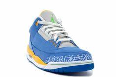 Jordan 3 limited edition Pittsburgh Penguin Blue