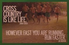 The truth is... you can always run faster