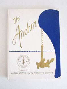 The Anchor Yearbook US Navy Training Company 012 Signed Photo Aircraft Carrier