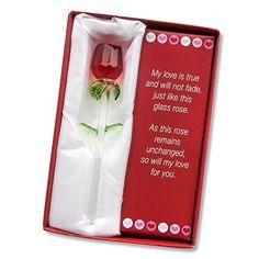 Forever Rose Valentines Day Special Perfect Gift I Love You Red Romantic For Her Review