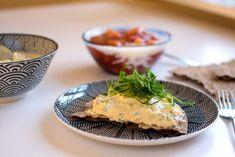 Äggsallad med senap och gräslök