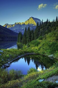 #Lake Josephine, #Montana I would love to take Alex here some day soon!