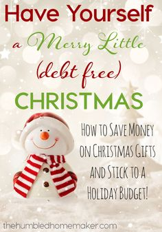 Have Yourself a Merry Little (Debt-Free) Christmas