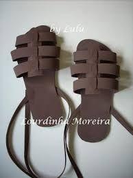 Resultado de imagen para manualidad de sandalias para niños
