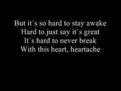 Amanda Jenssen- Heartache with lyrics How To Stay Awake, Amanda, Lyrics, Cards Against Humanity, Sayings, Song Lyrics, Music Lyrics, Quotations, Idioms