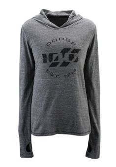 Women's #Dodge 100 Tri-blend Hooded Pullover