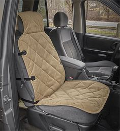 Just found this Dog Car Seat Protector - Deluxe Microfiber Bucket Seat Protector -- Orvis on Orvis.com!