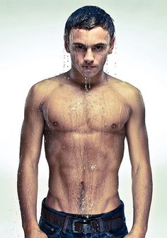 Tom Daley. olympic diving is my new favorite sport.