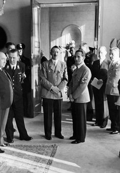 Adolf Hitler and Dr.Josef Goebbels