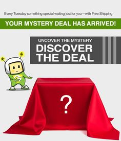 Your Mystery Deal has Arrived